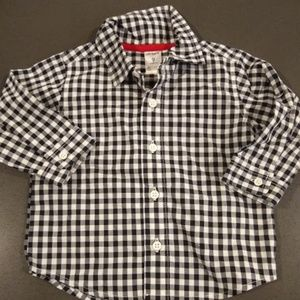 Carter's long-sleeve button down shirt 9M